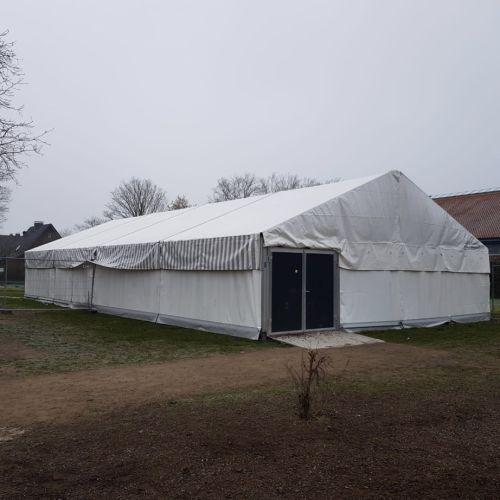 Der Umbau der Mensa in Raesfeld schreitet in großen Schritten voran….