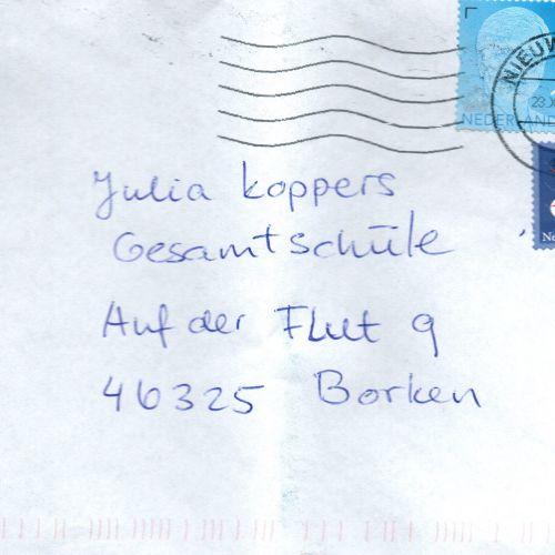 Post aus den Niederlanden für uns!
